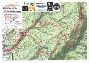 Dentelles 2015 - trail'o 1